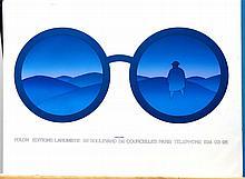 FOLON,  JEAN-MICHAEL  (  Belgian 1934-2005  ) (Spectacles)