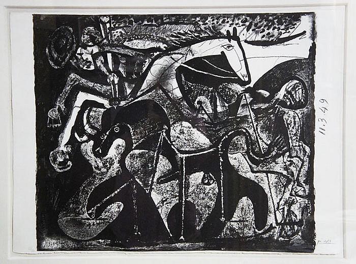 PICASSO,  PABLO,(Spanish 1881-1973)