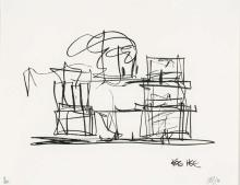 Frank  Gehry   (Canadian-American b. 1929)