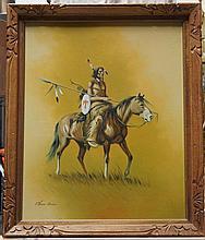 AMER-INDIO ART ,   (  American 20th C.  )