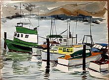ELLISON,   J. MILFORD  ( American (1909-1993)  ) (Several Boats)
