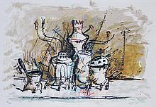 Yosul Bergner   (Austrian-Israeli b. 1920)