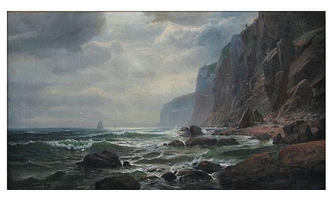 LEMUEL D. ELDRED (American, 1848-1921)