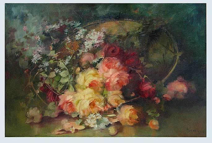 FLORINE A. HYER (American 1868-1936)