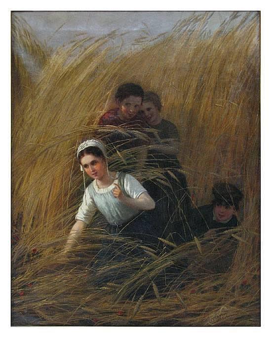 HENRI VAN SEBEN (Belgian, 1825-1913)