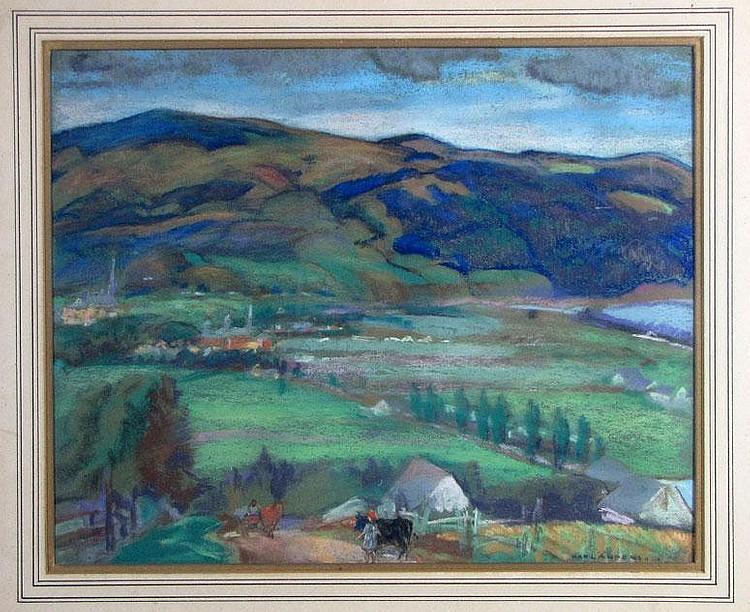 KARL ANDERSON (American, 1874-1956) landscape