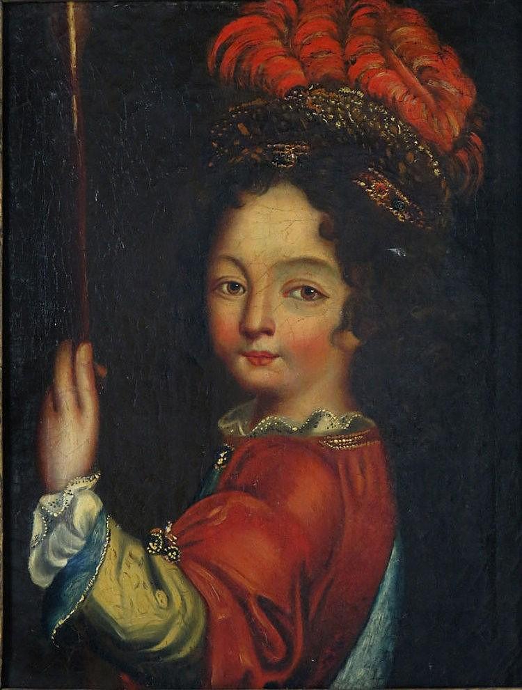 attrib. JEAN RAOUX (French, 1677-1734) half