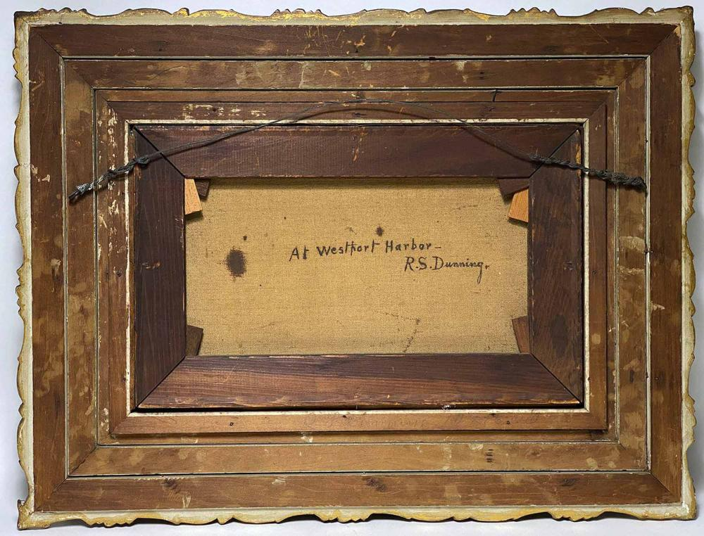 ROBERT SPEAR DUNNING (American/Maine, 1829-1905)