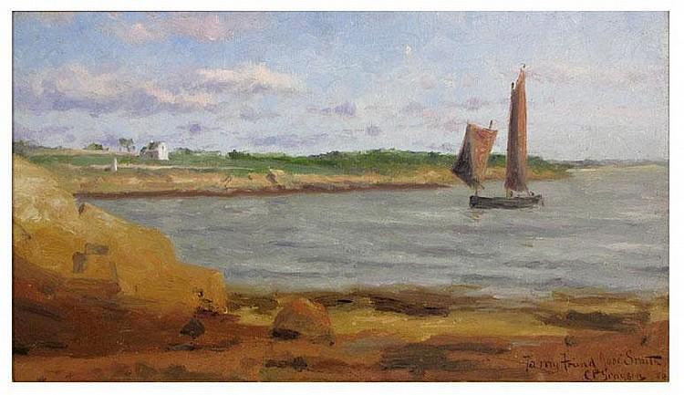 CLIFFORD B. GRAYSON (American, 1857-1951) ocean