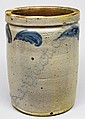One-and-a-Half-Gallon Cobalt-Decorated Stoneware