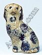Miniature John Bell Stoneware Spaniel, Waynesbor