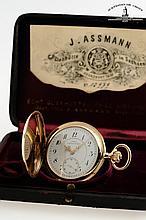 J. Assmann, Glashütte i/Sachsen, Movement No. 13979, Case No. 13979, 52 mm, 103 g, circa 1900