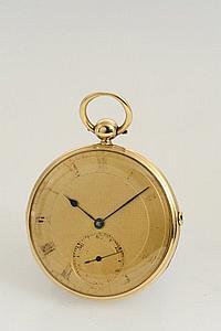 Arnold & Dent, 84 Strand, London, Movement No. 264, Case No. 3940, 42 mm, 64 g, circa 1829