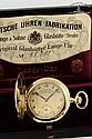 Deutsche Uhrenfabrikation Glashütte i/SA - A. Lange & Söhne, Movement No. 98711, Case No. 98711, 51 mm, 91 g, circa 1930