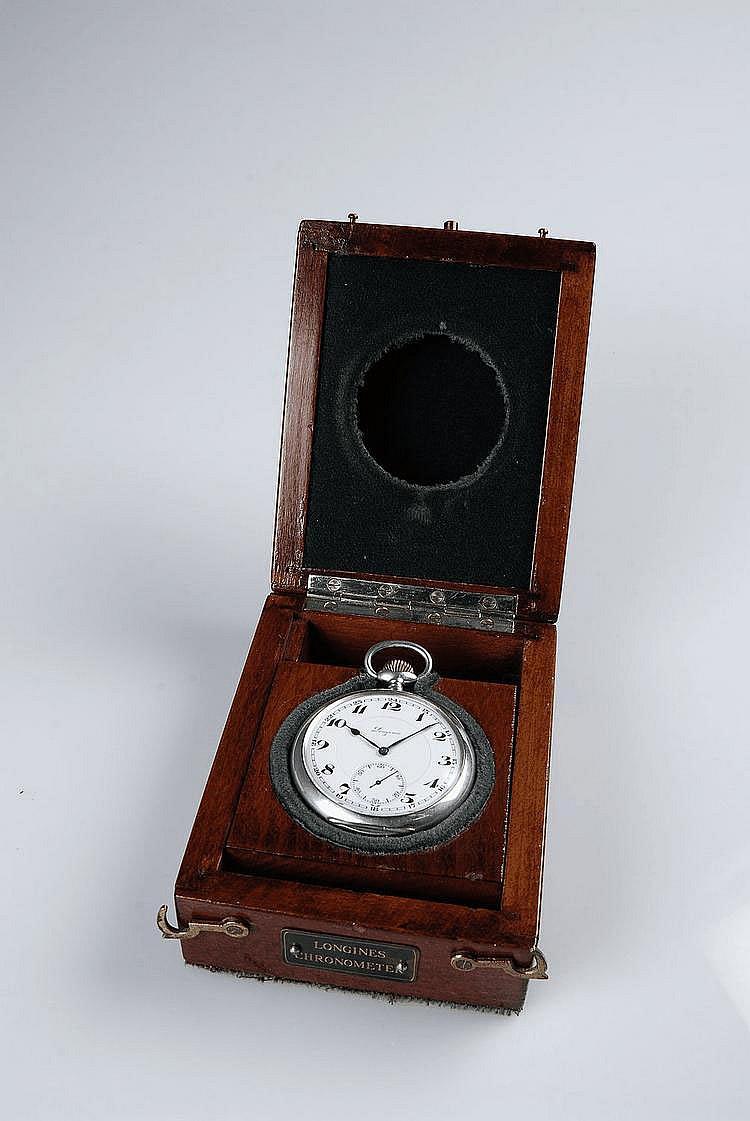 (*) Longines, Movement No. 4905912, Case No. 4905912, Cal. 21.25, 56 mm, 123 g, circa 1928