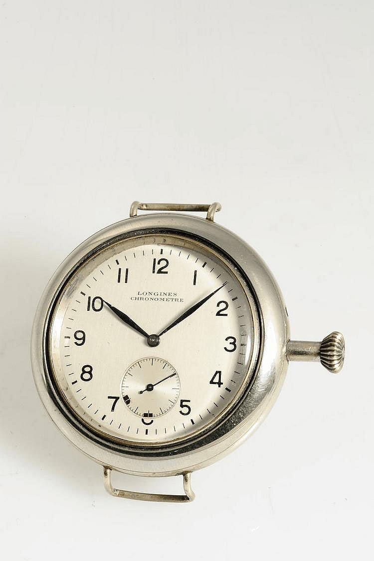 Longines Chronomètre, Movement No. 8750605, Cal. 30B, 43 mm, circa 1950