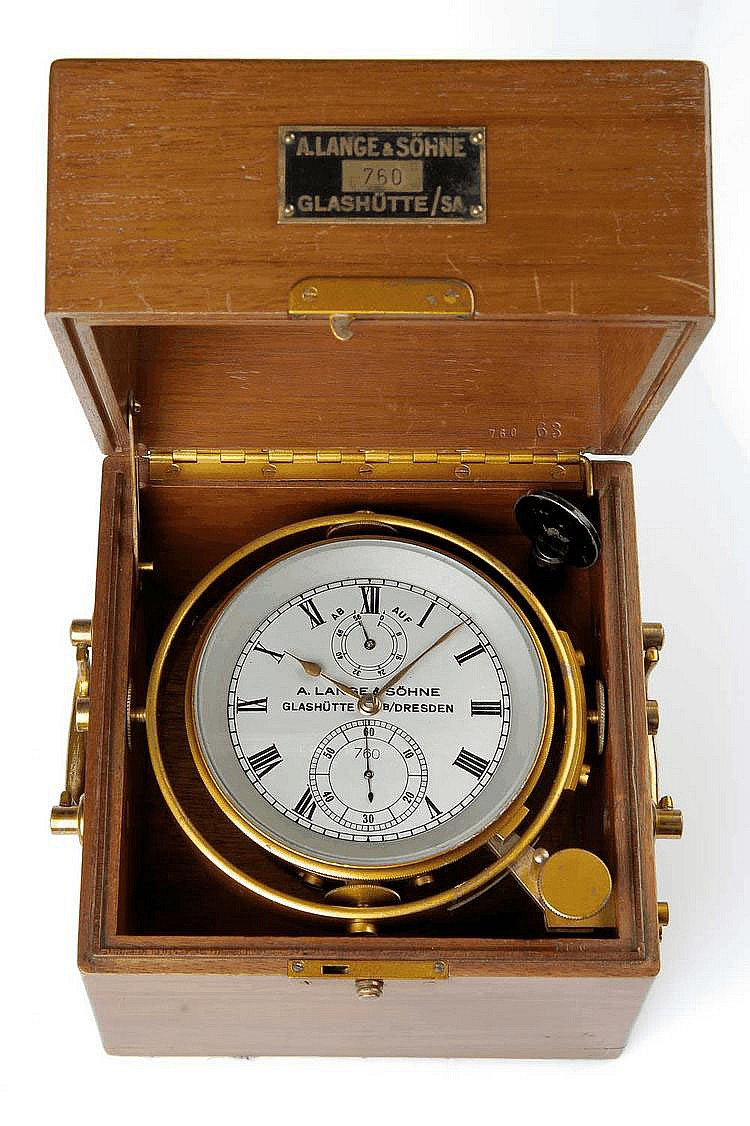 A. Lange & Söhne, Glashütte B/Dresden, Movement No. 760, 185 x 180 x 185 mm, circa 1948