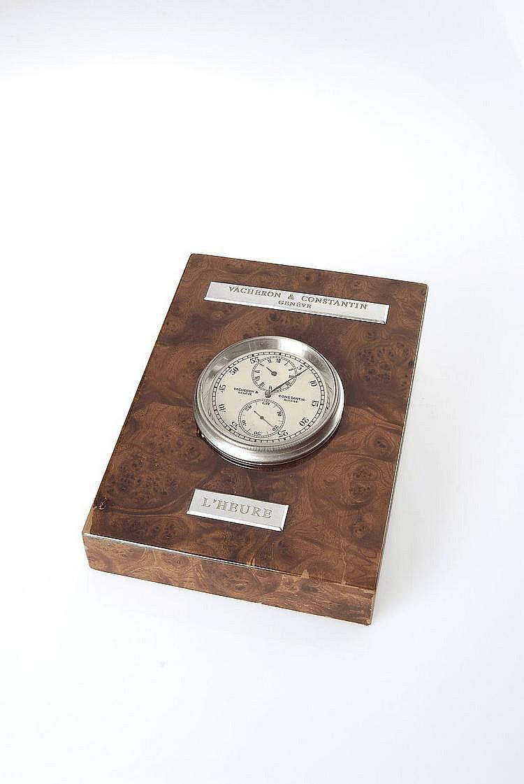 Vacheron & Constantin à Genève, Movement No. 415007, Case No. 255938, Cal. 67-124, 82 mm, 384 g, circa 1935