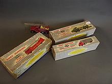 A Corgi 'Chipperfields Circus' truck, a boxed