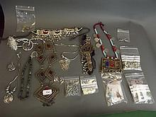 A large quantity of Eastern jewellery to include