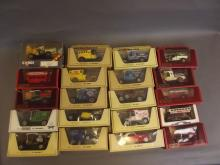 A collection of boxed model vehicles from Matchbox and Corgi (20)