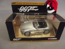 A boxed Corgi model of James Bond's BMW Z8