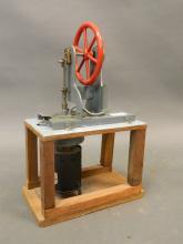 A scratch built model hot air engine, 10
