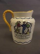A Royal Doulton 'Sea shanty' jug, no. 732558/9, 6½