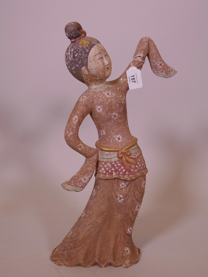A Chinese White Hardstone Figure Of Quan Yin 11 Quot High