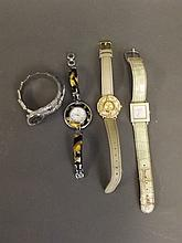 Four lady's wristwatches by Lancôme and others,