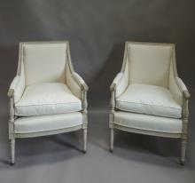 Pair of Swedish Bergeres