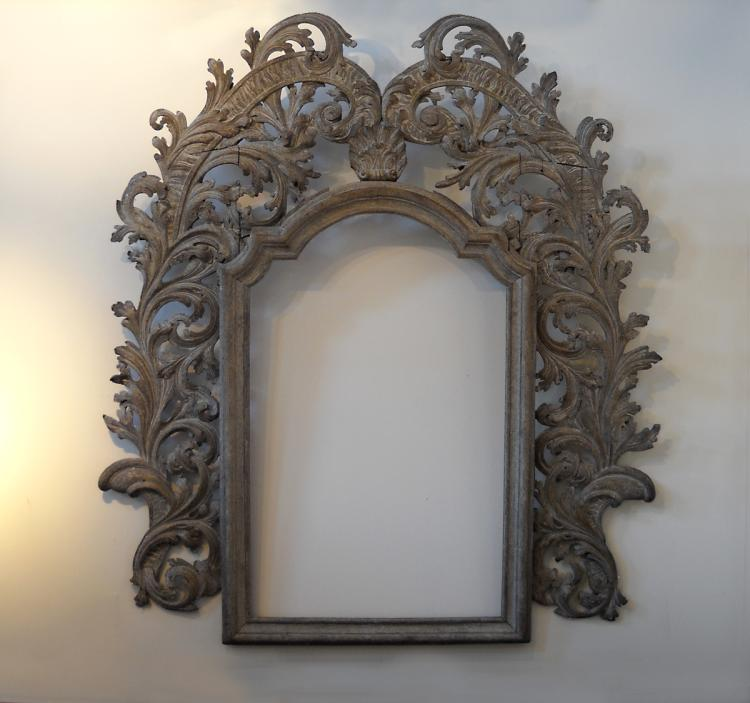 Monumental Carved Italian Baroque Frame