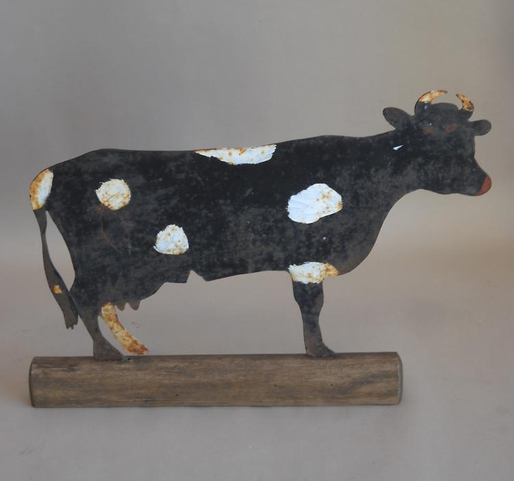 Painted Cow Sign from Denmark