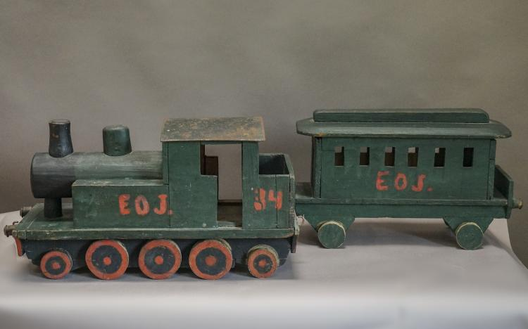 Hand-Made Swedish Toy Train