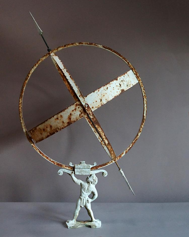 Swedish Armillary Sundial with Three Rings