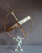 Swedish Armillary Sundial with Three Rings