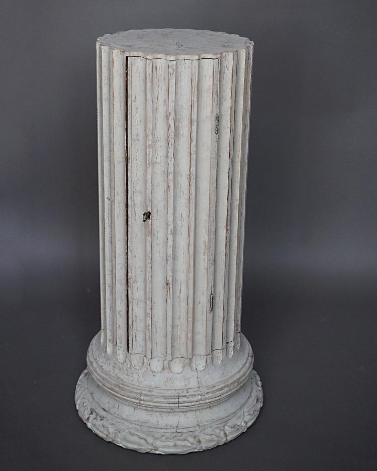 Swedish Columnar Cabinet