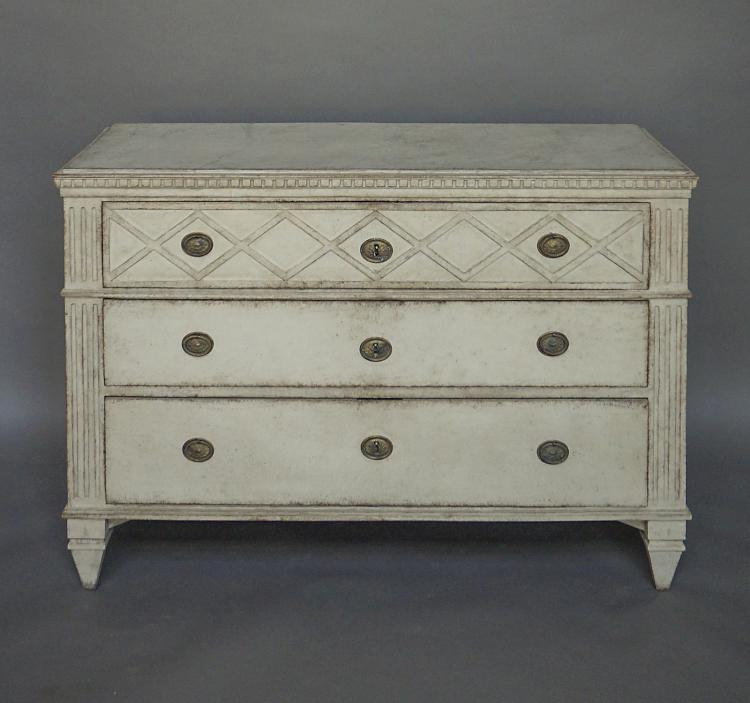 Swedish Neoclassical Chest of Drawers