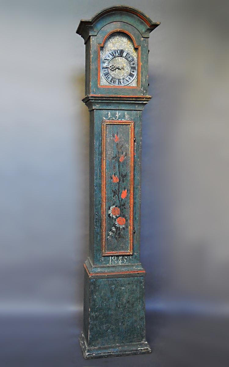 Swedish Clock in Original Paint