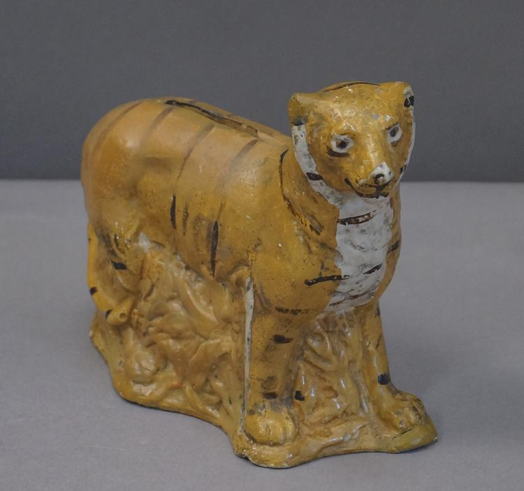 Danish Ceramic Tiger Bank