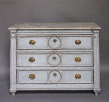 Swedish Empire Chest of Drawers