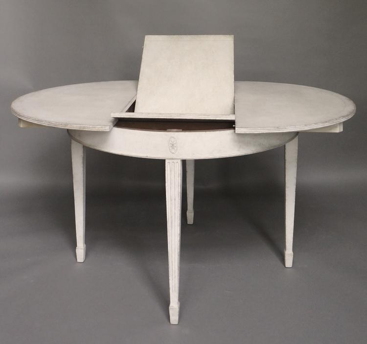 Gustavian Style Dining Table
