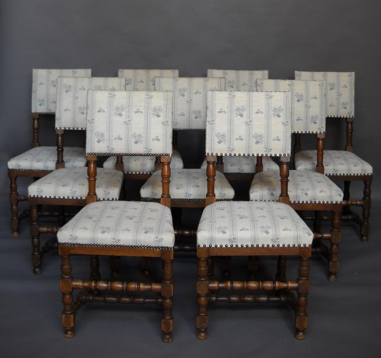 Ten Renaissance Chairs