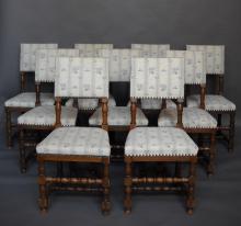 Ten Renaissance Chairs