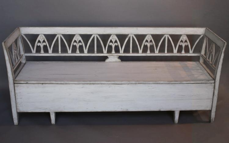 Swedish Storage Bench