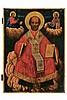 St. Nicholas enthroned