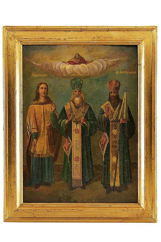 Saint Marina, Tycho Sadiki, Basil the Great