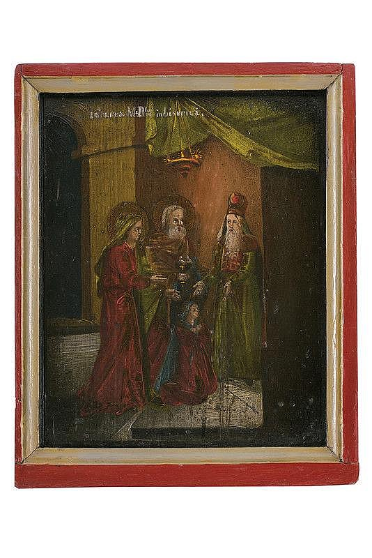 Presentation in the Temple of the Virgin
