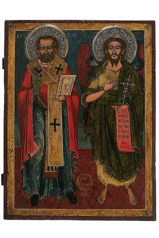 St. Nicholas and St. John the Baptist