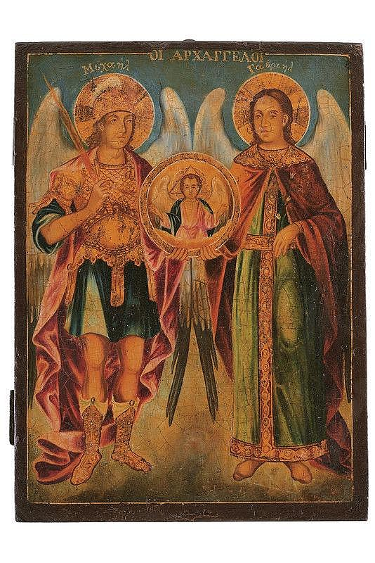 Archangels Michael and Raphael
